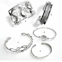 Solid Sterling Silver Cuff/bangle Sterling Silver Cuff Bracelet-highly Polished
