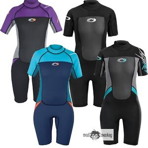 OSPREY ORIGIN WOMENS 3 2MM SHORTIE - wetsuit ladies 3mm shorty kayak ... 63092e913