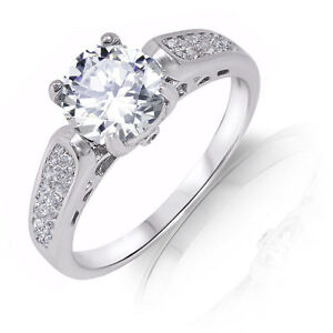 Brilliant-White-Sapphire-Micro-Pave-Engagement-Genuine-Sterling-Silver-Ring