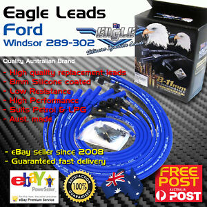 Eagle-8mm-Ignition-Spark-Plug-Leads-8cyl-Fits-FORD-Windsor-V8-289-302-Petrol-LPG