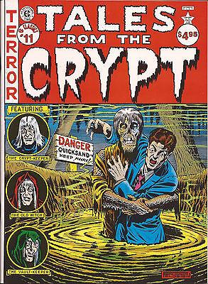 EC Classics #4 Shock SuspenStories #1 reprint 1985 magazine size eerie creepy