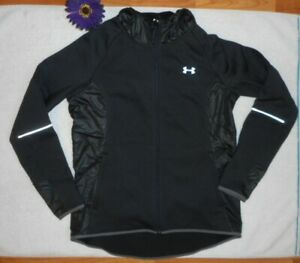 New-Under-Armour-Womens-Large-Storm-Jacket-Black-Hooded