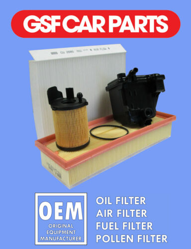 Service kit huile air carburant /& pollen filtres citroen xsara picasso 1.6 hdi