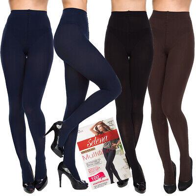 Sportivo Ladies Velvet Collant Tinta Unita Garantito Collant Opaco Spesso Stile Denari 100 Aa716-mostra Il Titolo Originale