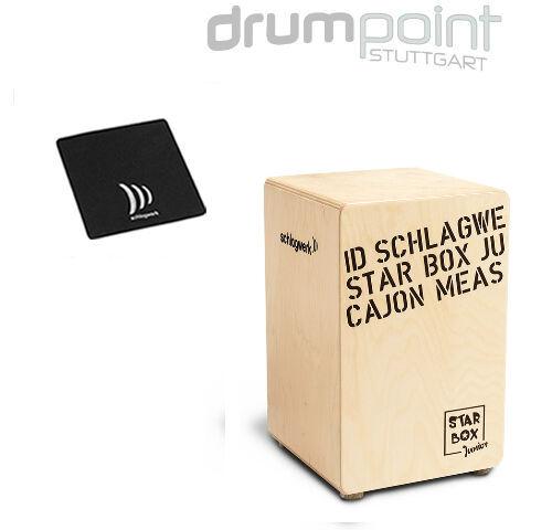 Schlagwerk Cajon Star Box CP-400 SB Starbox Kidscajon & Sitzpad  SPECIAL