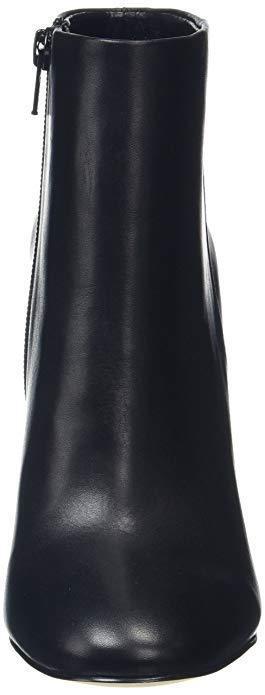 ALDO ARAVIA SIZE 8 41 HEEL BLACK REAL LEATHER HIGH HEEL 41 ANKLE Stiefel BNWB 4a6264