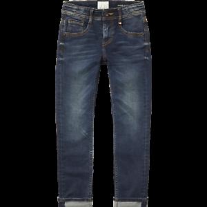 158 NEU Vingino Anderson Jungen Jeans skinny dark used denim  Gr
