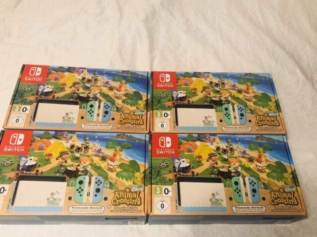 Nintendo Switch Animal Crossing New Horizons Edition UK ...