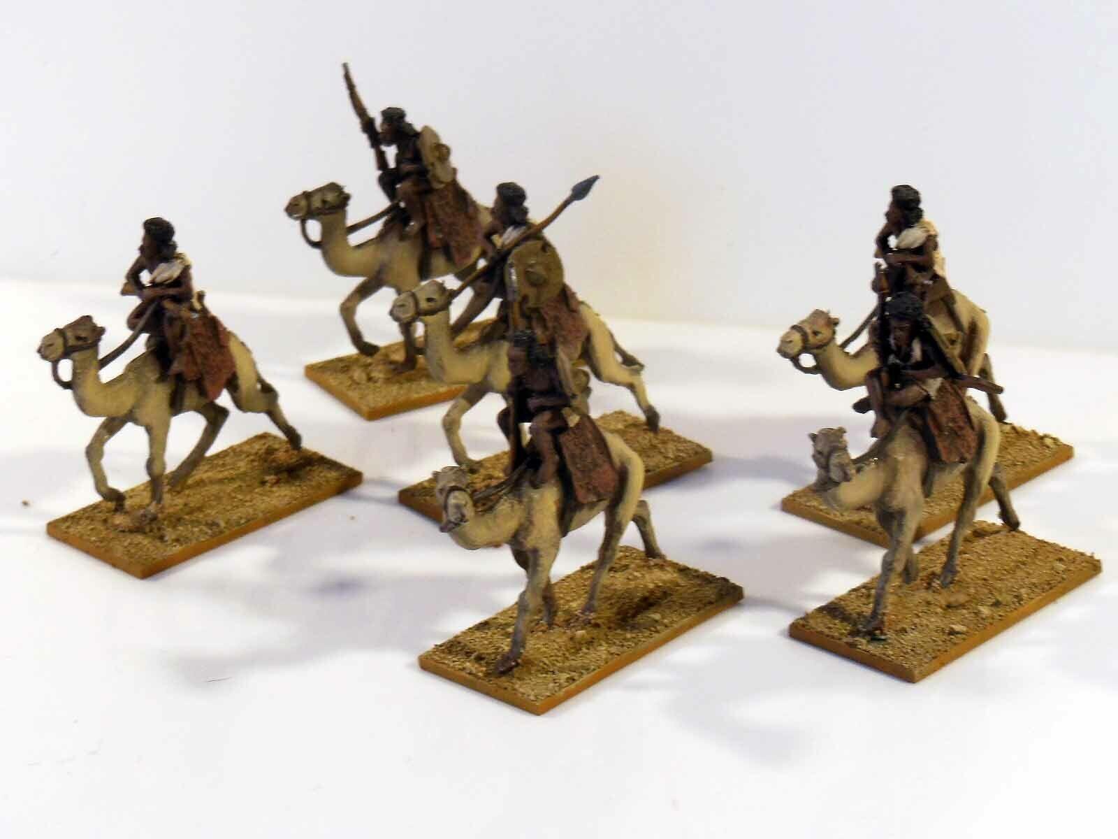 28mm Sudán Mahdist montado Beja en camellos - 6 figuras de metal pintado & basado en  2