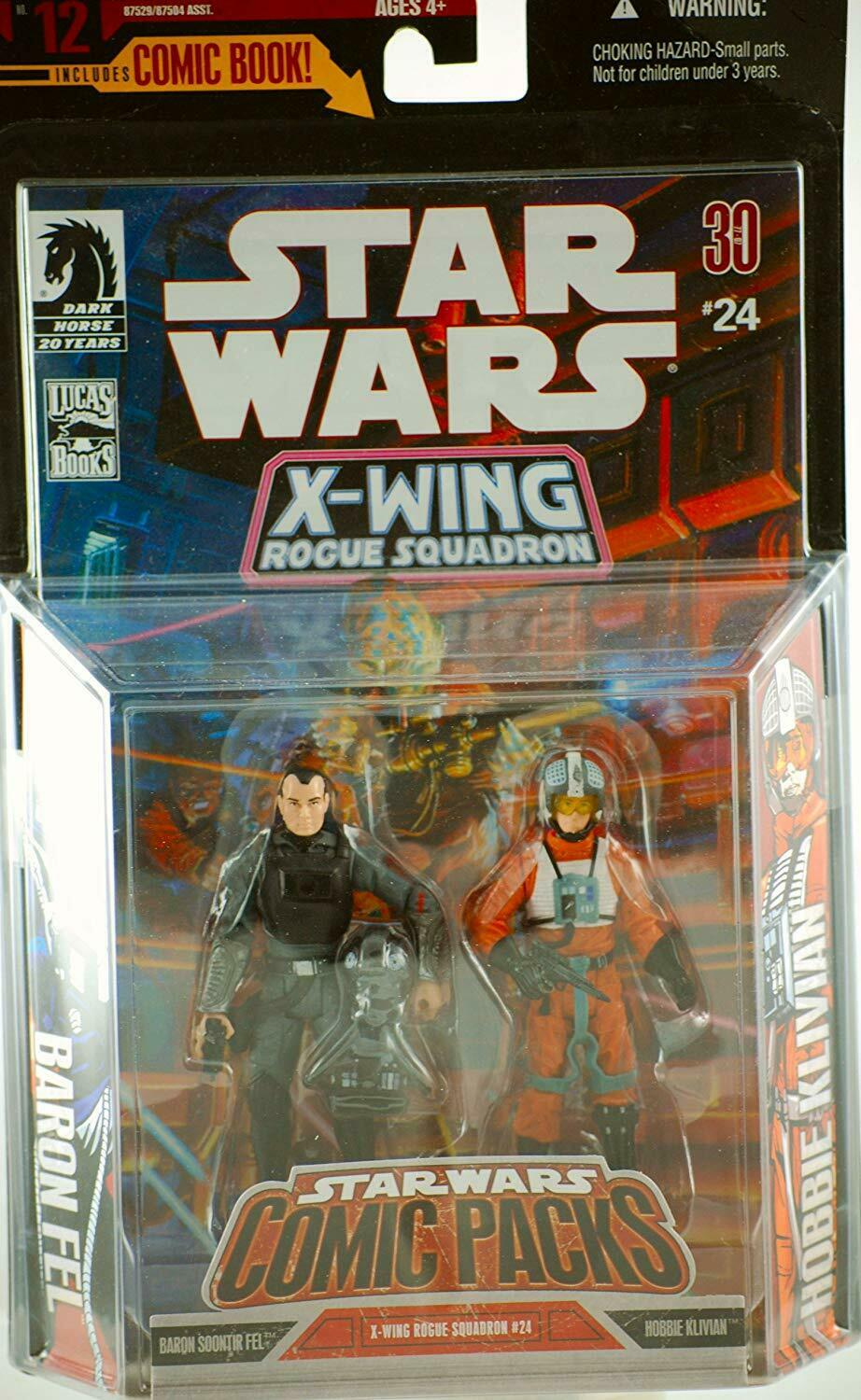 Hasbro Star Wars Expanded Universe X-Wing Rogue Squadron