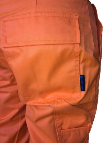 Warnschutzhose Sommerlatzhose Warnschutzhose EN20471  Latzhose