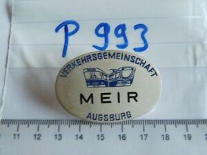 Plakette-Brustabzeichen-VGA-Augsburg-Verkehrsgemeinschaft-P993