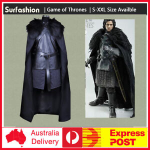 Adult-Game-of-Thrones-Jon-Snow-Cosplay-Costume-Fancy-Party-Men-Outfit-Coat-Dress