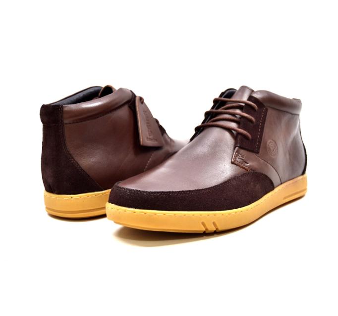 British Walker Collection  Birmingham  Men's Marroneee Leather Suede 62711-6