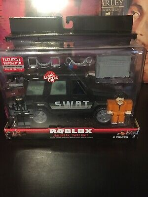 SEALED New ROBLOX Badimo Bloxy Action Collection Jailbreak SWAT Vehicle Car Unit