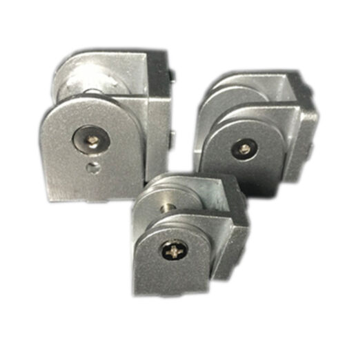 1× Zinc Alloy Hinge Industrial Aluminum Adjustment Angle Connector2020//3030//4040