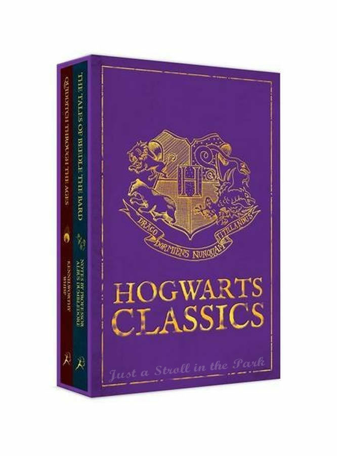 Harry Potter Book Set Target : Harry potter complete hogwarts classics hardcover box set