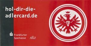 Eintracht Frankfurt Aufkleber Frankfurter Sparkasse 20,5x10,5-Hools-Ultras-Fans