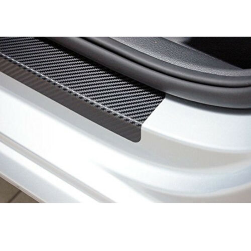 CARBON FIBER 3D DOOR SILL Limited Protector Vinyl Sticker For Jeep Wrangler 07+
