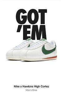 9c5299e6e4a0 Men Size 15 Nike X Stranger Things Cortez Hawkins High Confirmed ...