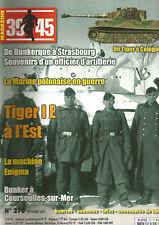 39-45 N°270 TIGER I E / MARINE POLONAISE / MACHINE EGNIMA / BUNKER COURSEULLES