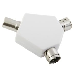 Antena-de-TV-de-2-vias-Y-Adaptador-Divisor-Coaxial-Coaxial-Convertidor-De-Doble