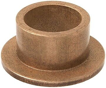 Oilite Bronze Bush Flanged 15mm bore x 22mm OD x 16mm long 28 x 3 flange
