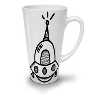 Spaceship NEW White Tea Coffee Latte Mug 12 17 oz   Wellcoda