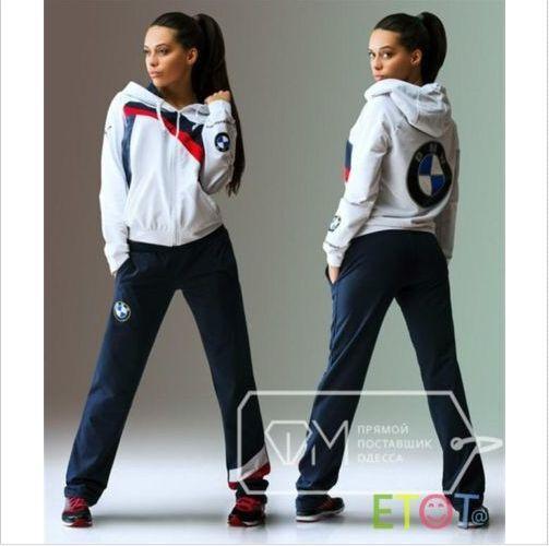 Hooded Sweat Sweatshirt Track Sweatpants Set Blue S M L Spring Women's Print HOT