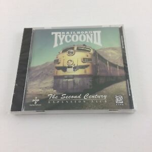 Details about Railroad Tycoon II The Second Century Expansion Pack Sealed  PC Game Top Pop