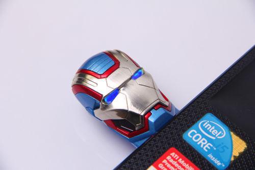 8gb 32gb IRON MAN CAPTAIN AMERICA USB 2.0 Flash Drive Memory Stick Movie Figure