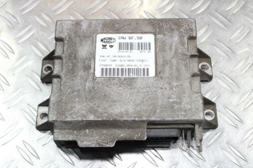 FIAT 500 CINQUECENTO moteur taxe périphérique dispositif de commande moteur iaw6fs0 7780555