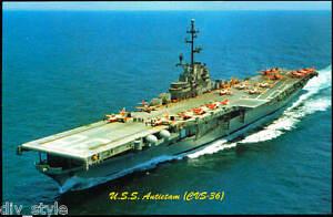 USS-Antietam-CVS-36-postcard-US-Navy-ship-aircraft-carrier