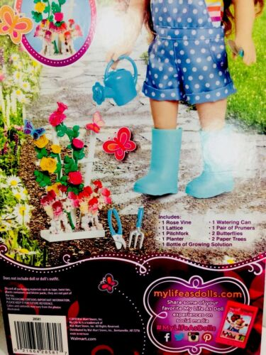 YOU CAN GROW YOUR OWN CRYSTAL FLOWER! FLOWER GARDEN PLAY SET BY MY LIFE BRAND