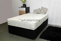 Double, King Size Bed With Luxury Orthopaedic Mattress Factory Shop Sale