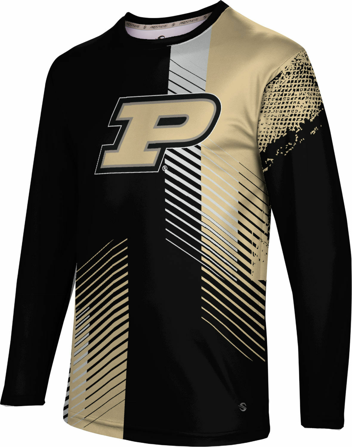 ProSphere Men's Purdue University Hustle Long Sleeve Tee (PU)