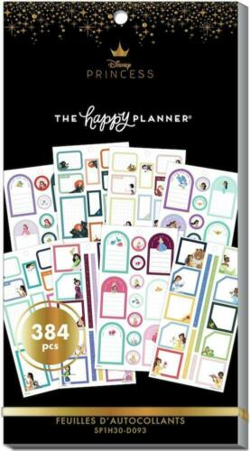 DISNEY The Happy Planner Princess Colorful Boxes Value Pack Stickers SP1H30-D093