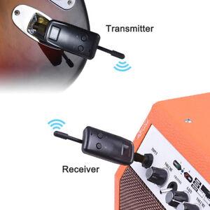 Unterhaltungselektronik Tragbare Wireless Audio Transmitter Receiver System Für Elektrische Gitarre Bass Elektrische Violine Musical Instrument Tragbares Audio & Video