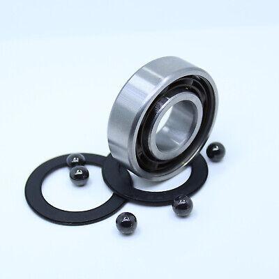 607-2RS HYBRID CERAMIC Si3N4 Ball Bearing Bearings 607RS 7x19x6 mm QTY 2