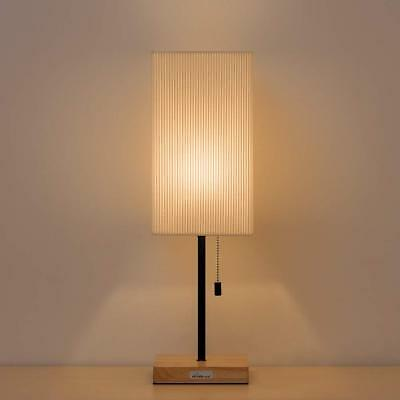 Modern Bedside Table Lamp Nightstand Light Simple Style