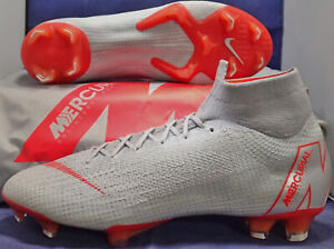 Nike-Mercurial-Superfly-6-VI-Elite-FG-Grey-Light-Crimson-SZ-US-9-AH7365-060