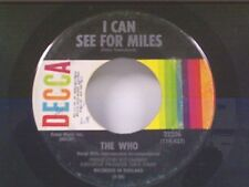 """THE WHO """"I CAN SEE FOR MILES / MARY-ANNE WITH SHAKY HANDS"""" 45"""
