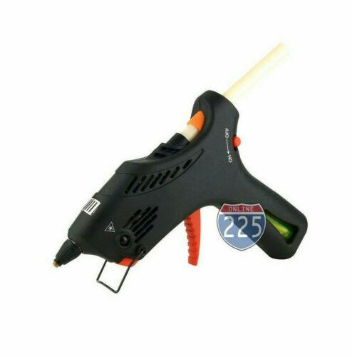 Pistola de pegamento de gas butano inalámbrico con control automático de temperatura y 2 nos pegamento pega