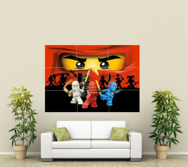 Lego Ninjago Giant XL Section Wall Art Poster VG132