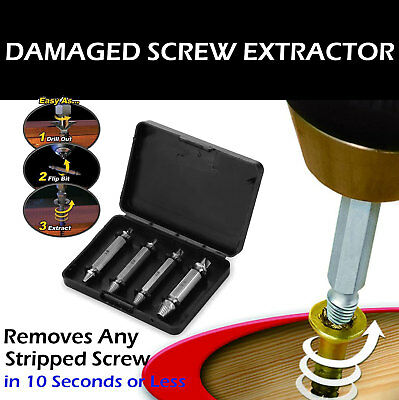 Screw Extractor,22pcs Damaged Screw Extractor Set,DSafer 10 Different Sizes Broken Bolt Remover Kit with Magnetic Extension Bit Holder and Socket Adapter,Best Fathers Day Gifts from Kids