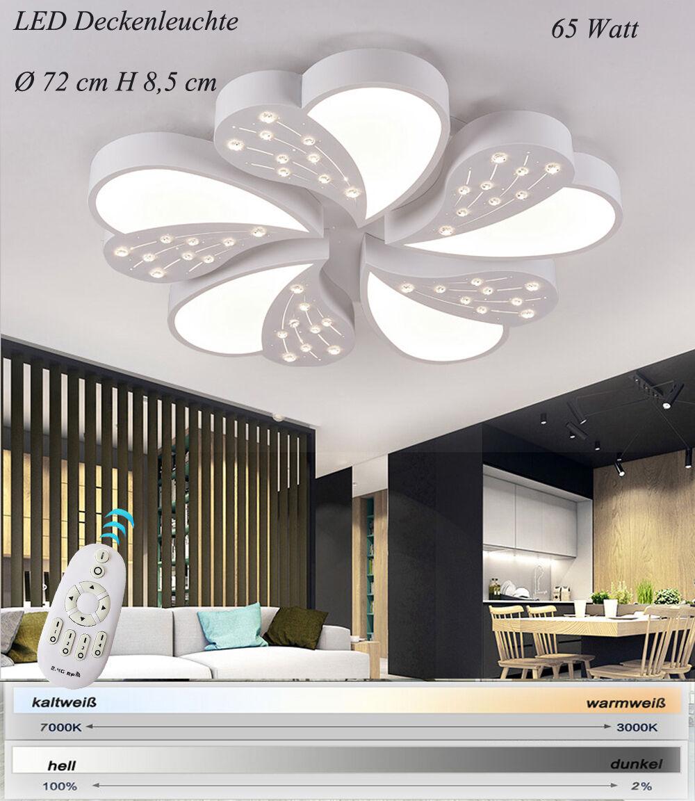 LED Deckenleuchte XW01 mit Fernbedienung Lichtfarbe Helligkeit einstellbar A+