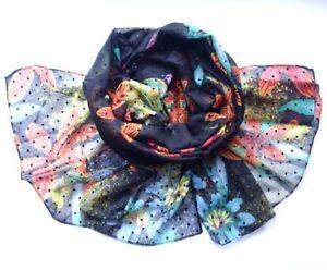 Fashion Womens Colorful Scarf Spain Desigual Wrap Shawl Headkerchief 1# Gifts