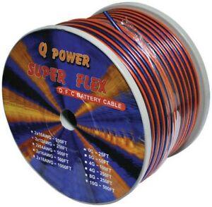 Qpower 12G250 Speaker Wire 12 Gauge 250' Oxygen Free Copper