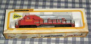 Vintage-HO-Scale-Santa-Fe-5622-Diesel-Locomotive-Bachmann-Motored-Yard-Switcher