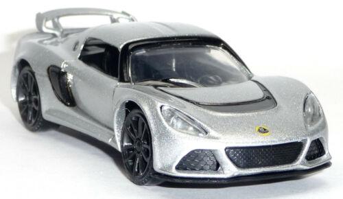 9 cm von MotorMax 2012 Lotus Exige S Sportwagen silber Sammlermodell ca.1:43